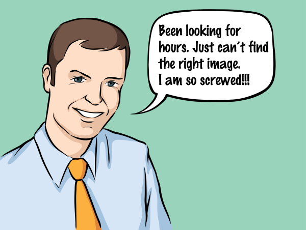 Office Guy cartoon
